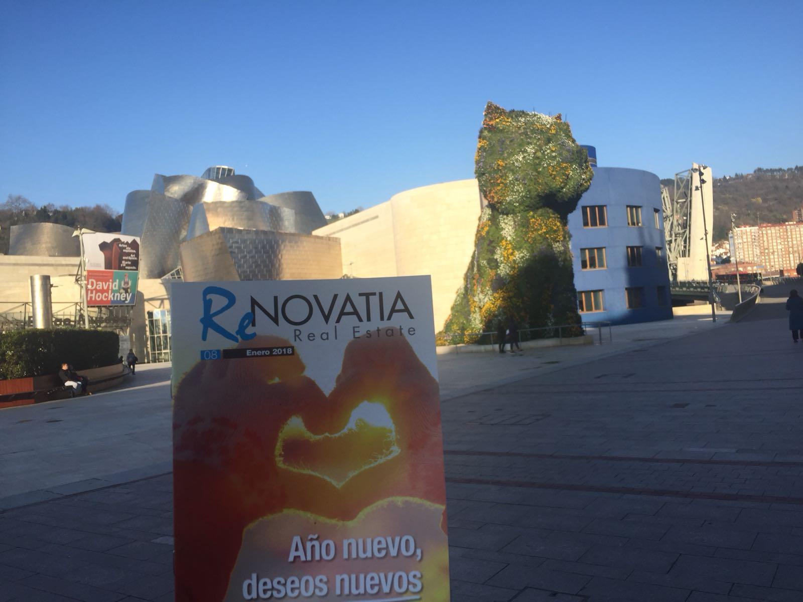 foto de folleto en Bilbao